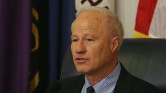 WASHINGTON, DC - APRIL 13: Chairman Mike Coffman (R-CO) speaks during a House Veterans Affairs Subcommittee hearing on April 13, 2014 in Washington, DC. The subcommittee is hearing testimony on addressing continued whistleblower retaliation within the Veterans Affairs Administration (VA).  (Photo by Mark Wilson/Getty Images)