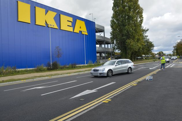 A man died at theIkea store in Pincents Lane, Reading, on Wednesday