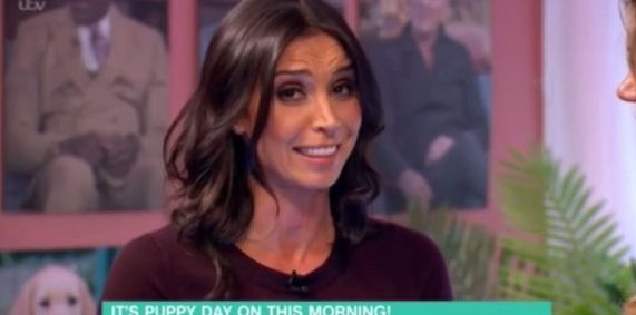 Christine Bleakley Raises 'This Morning' Laugh With 'Little Minnie'
