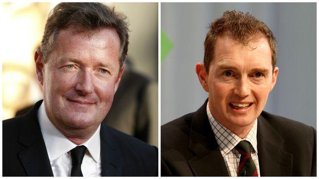 Piers Morgan (left) and David Davies