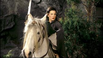 UNITED STATES - DECEMBER 01:  'The Lord of the Rings: The fellowship of the ring' In United States In December, 2001-Liv Tyler stars as the Elven beauty Arwen.  (Photo by 7831/Gamma-Rapho via Getty Images)