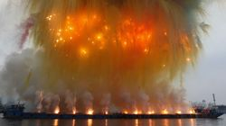 This Artist Literally Lights His Art on Fire, and the Result Is Pure