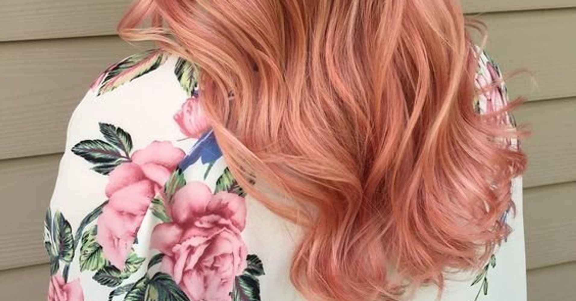 This Rose Gold Hair Trend Will Straight Up Give You Life Huffpost Life