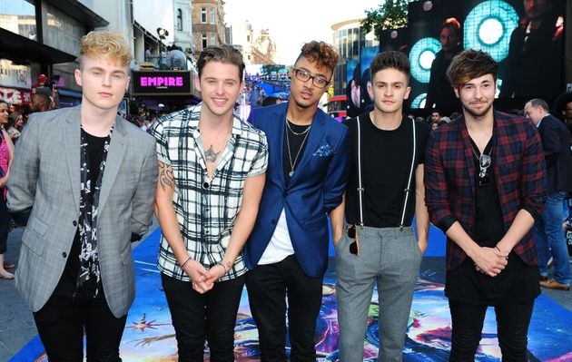 Joe with the rest of the Kingsland