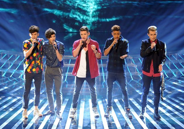Kingsland Road were voted off fourth on 'X Factor'