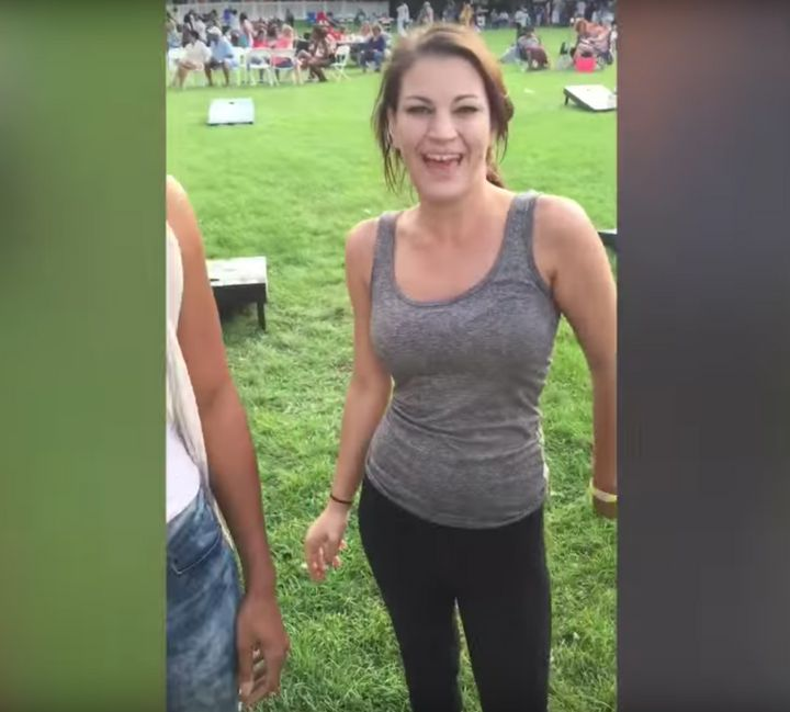 A Chicago woman is facing felony hate crime charges after video captured her spitting and yelling a racial slur at a black co