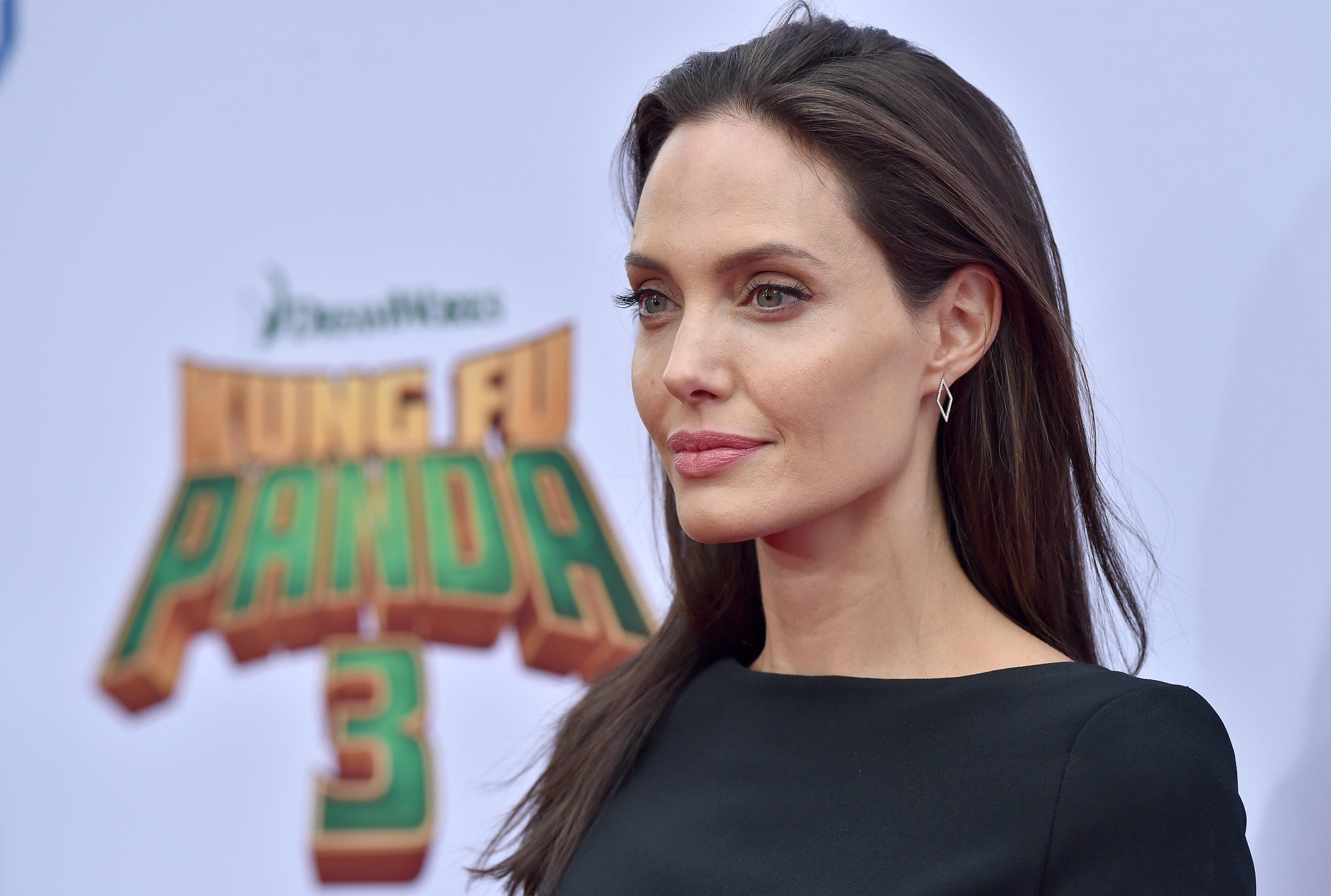 Jolie filed for divorce from Brad Pitt in September citing irreconcilable