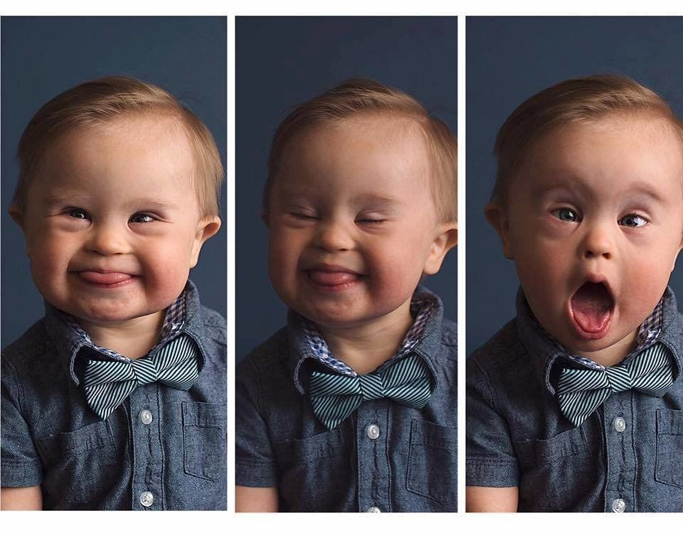 Fifteen-month-old Asher is helping his mom make advertising more inclusive.