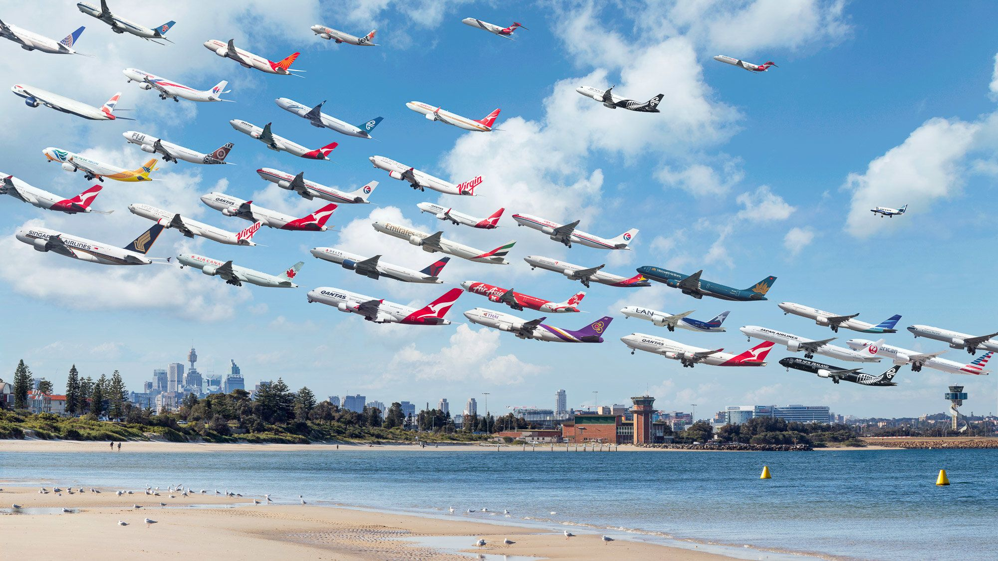 These Stunning 'Airportraits' Show The Beauty Of Flight At Airports Around The