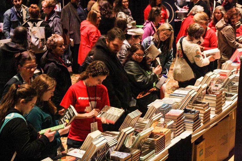 Book Fair, Wordstock 2015