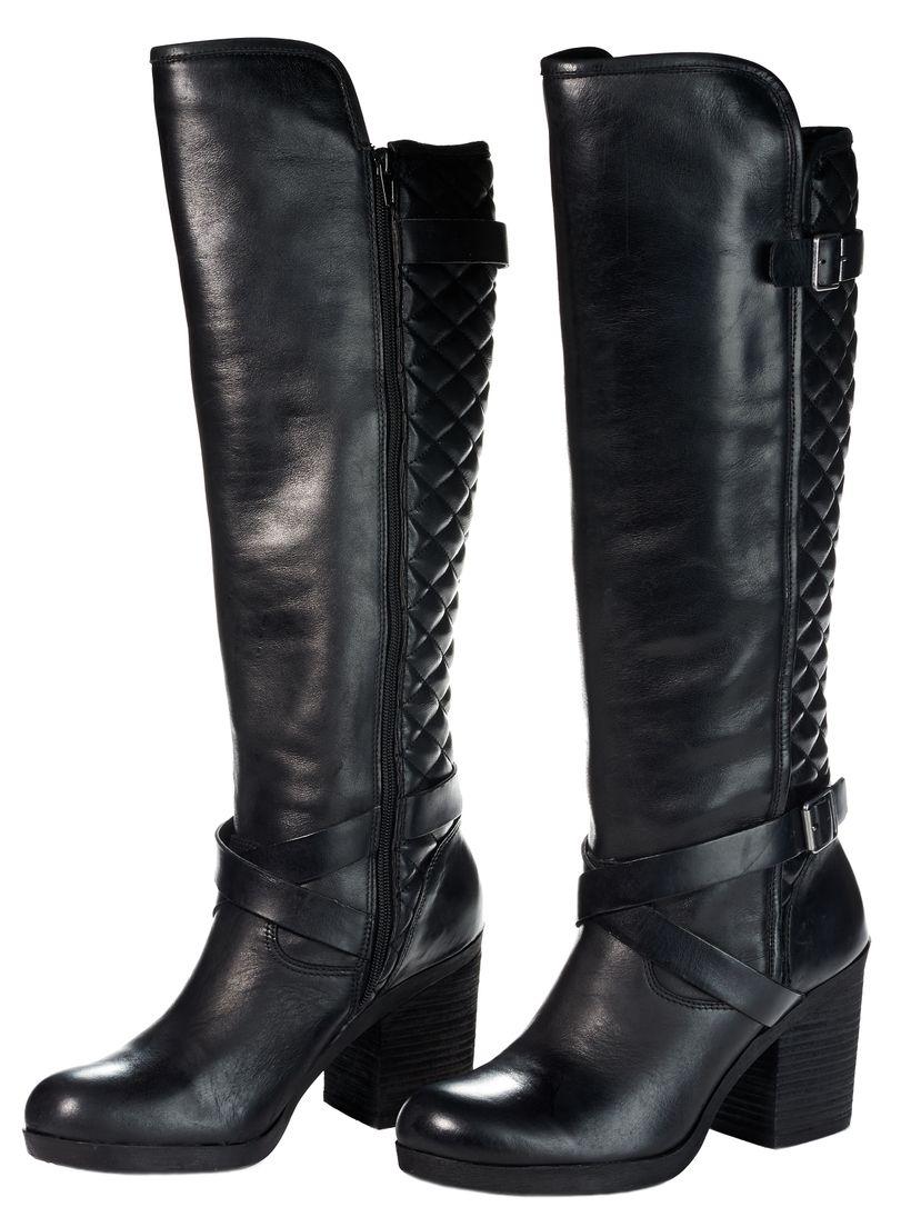 Lucky Brand Knee High Heeled Boot