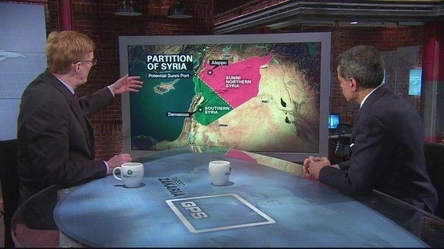 Joshua Landis introduces Syria partition plan on CNN