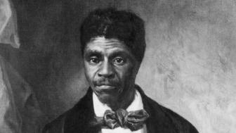 (Original Caption) Dred Scott (1795-1858), American ex-slave painting by Louis Schultze. Missouri Historical Society. BPA 2 #59