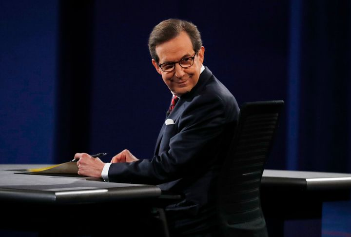 Chris Wallace, not asking a question about climate change at Wednesday night's debate.