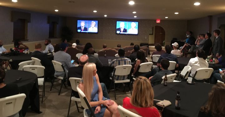 The Young Democrats of Atlanta and the Atlanta Young Republicans hold a joint debate watch party in what could be the newest