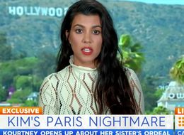 Australian Reporter Accuses Kourtney Of 'Blanking' Him Over Kim K Question