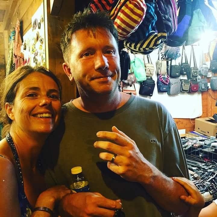 Matt and his wife Rachel.