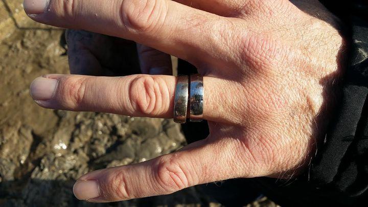 Matt has been reunited with his wedding ring.