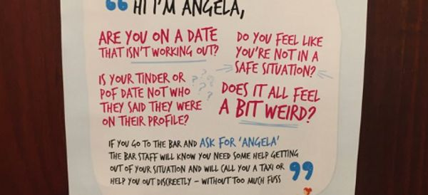 If You Feel Uncomfortable On A Date, These Posters Will Help Keep You Safe