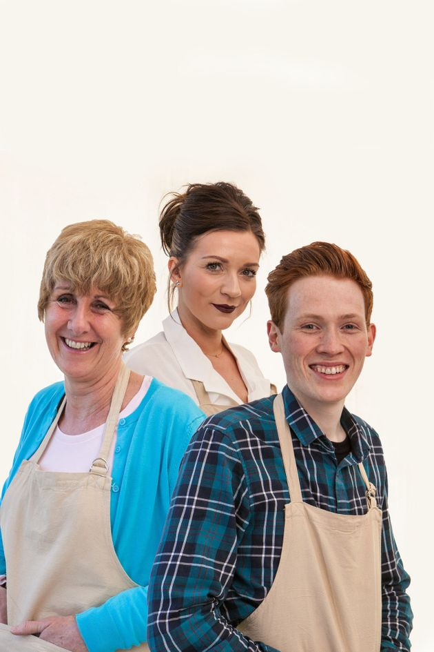 Jane, Candice and Andrew will be competing for GBBO champion