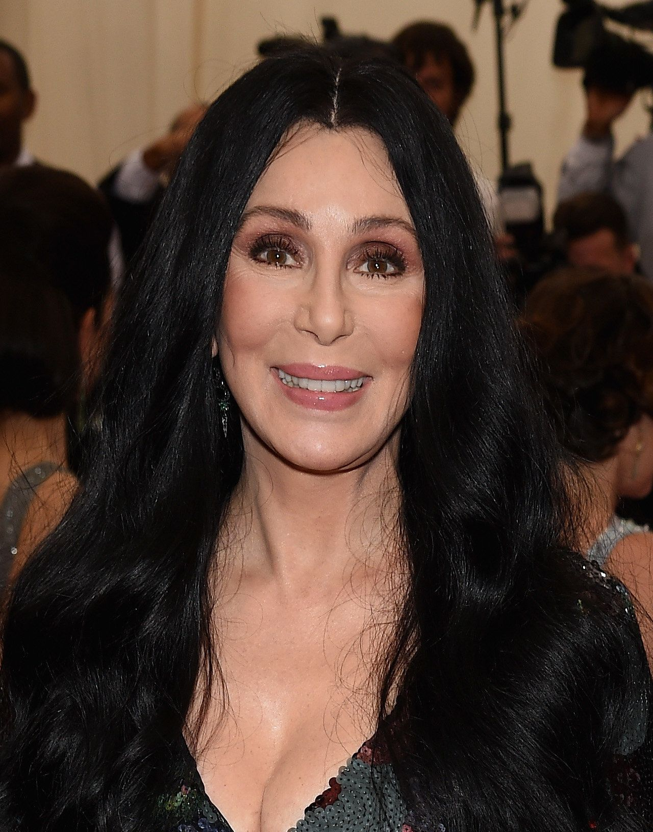 NEW YORK, NY - MAY 04: Cher attends the 'China: Through The Looking Glass' Costume Institute Benefit Gala at the Metropolitan Museum of Art on May 4, 2015 in New York City.  (Photo by Dimitrios Kambouris/Getty Images)