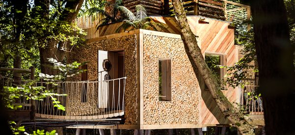 This Modern Treehouse Puts The Glam In Glamping