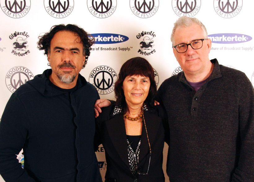 Alejandro González Iñárritu, Meira Blaustein and David Linde