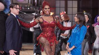 THE ROCKY HORROR PICTURE SHOW: LET'S DO THE TIME WARP AGAIN:  L-R:  Ryan McCartan, Laverne Cox and Victoria Justice in THE ROCKY HORROR PICTURE SHOW: LET'S DO THE TIME WARP AGAIN: Premiering Thursday, Oct. 20 (8:00-10:00 PM ET/PT) on FOX. ©2016 Fox Broadcasting Co. Cr: Steve Wilkie/FOX