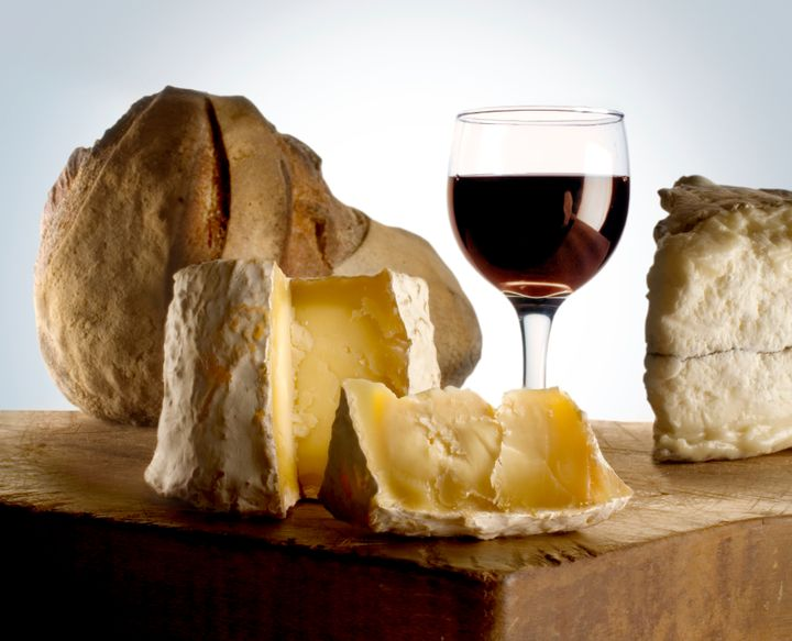 Wine and cheese -- a dream team.