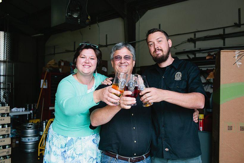 Robert, David & Lizzie (Sonoma Cider)