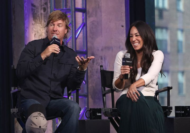 Chip Gaines and Joanna Gaines attend The Build Series to discuss 'The Magnolia Story' at AOL HQ on October 19, 2016 in New Yo