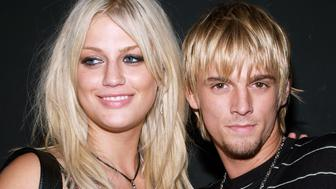 Leslie Carter and Aaron Carter during Howie Dorough Birthday Celebration to Raise Awareness of Lupus at LAX in Hollywood, California, United States. (Photo by Michael Tran/FilmMagic)