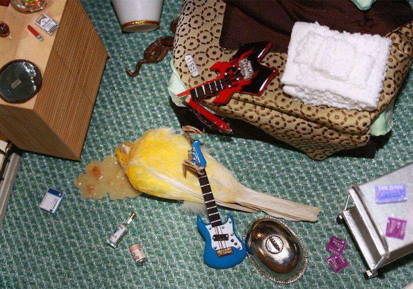 Canary Suicide: Burnout (detail)