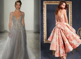 28 New Wedding Dresses That Will Make You Re-Think The Classic White