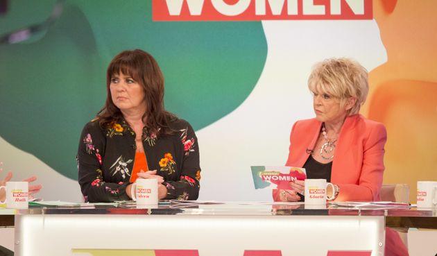 Coleen Nolan and Gloria Hunniford on Monday's 'Loose