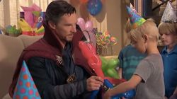Benedict Cumberbatch's Doctor Strange Is The Worst Kid-Party Magician