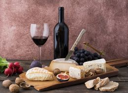 Eating Cheese Can Make Your Wine Taste Better