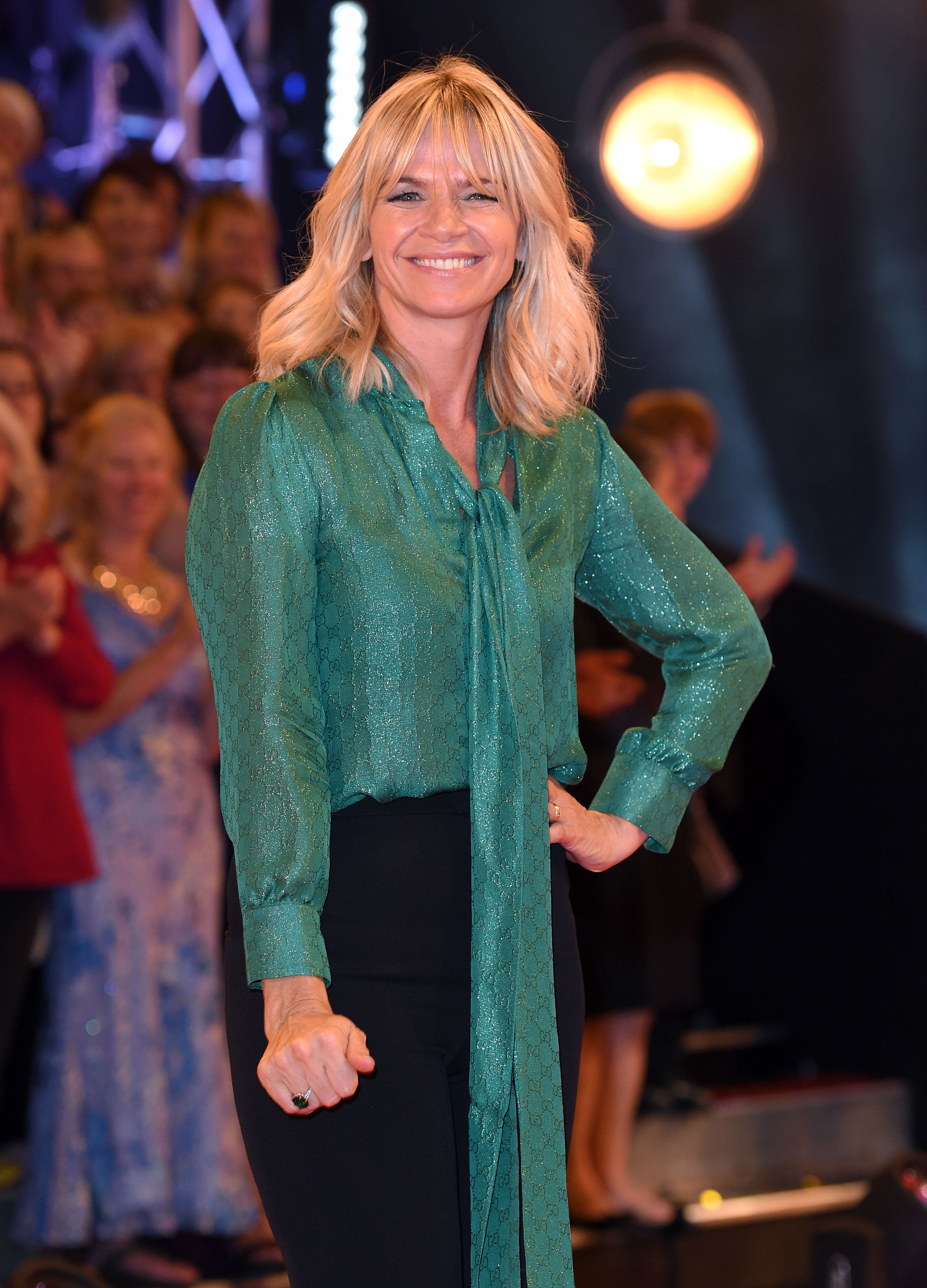 Zoe Ball will be stepping into Claudia's shoes for the first of the new
