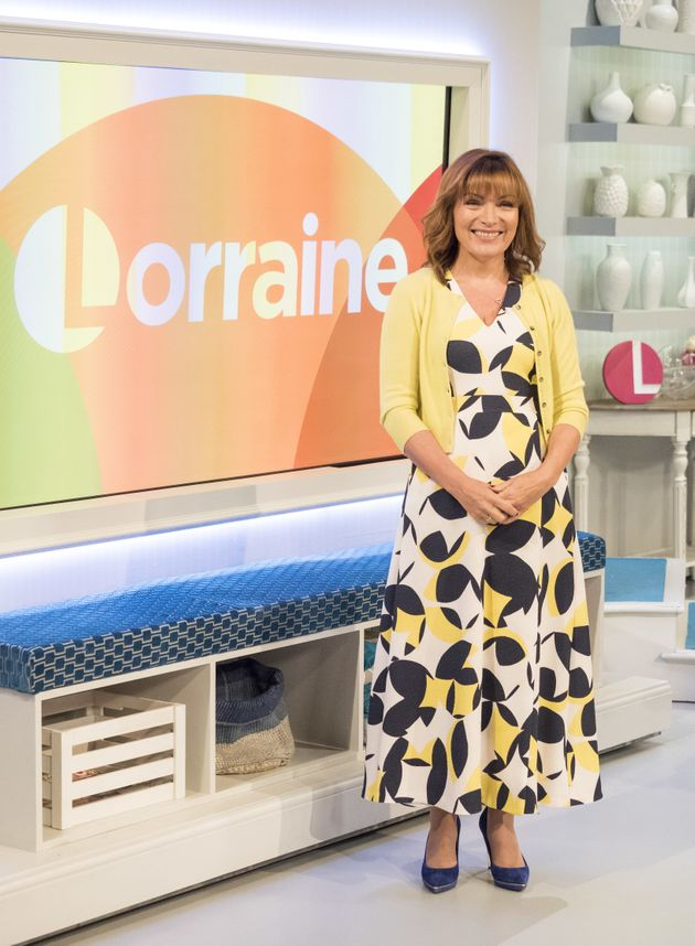 Lorraine is heading off on her