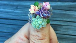 Succulent Manicures Take 'Green Thumb' To A Whole Other