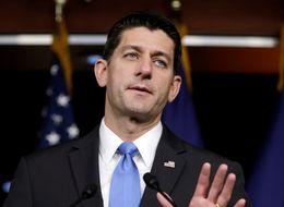Republicans' Loyalties Are Split Between Donald Trump And Paul Ryan
