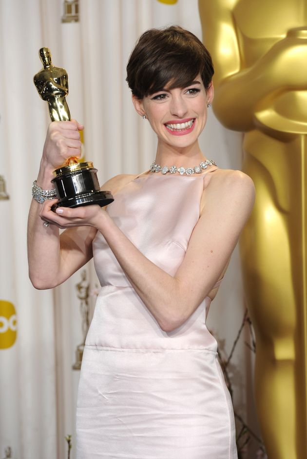 Anne Hathaway won her Oscar for her role of Fantine in 'Les
