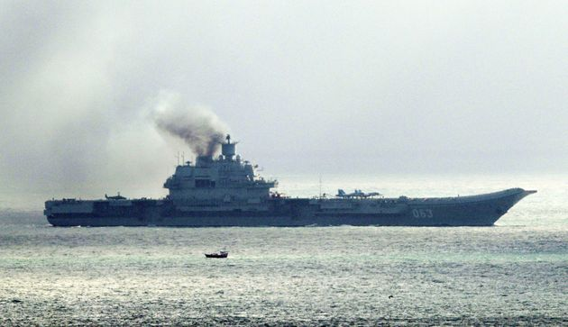 Russian Warships Escorted Through English Channel By British