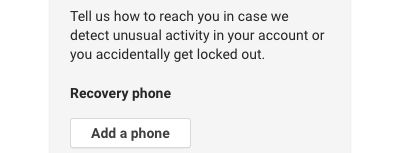 Giving Google Your Mobile Number Could Make Your Gmail Account Less Secure, Expert