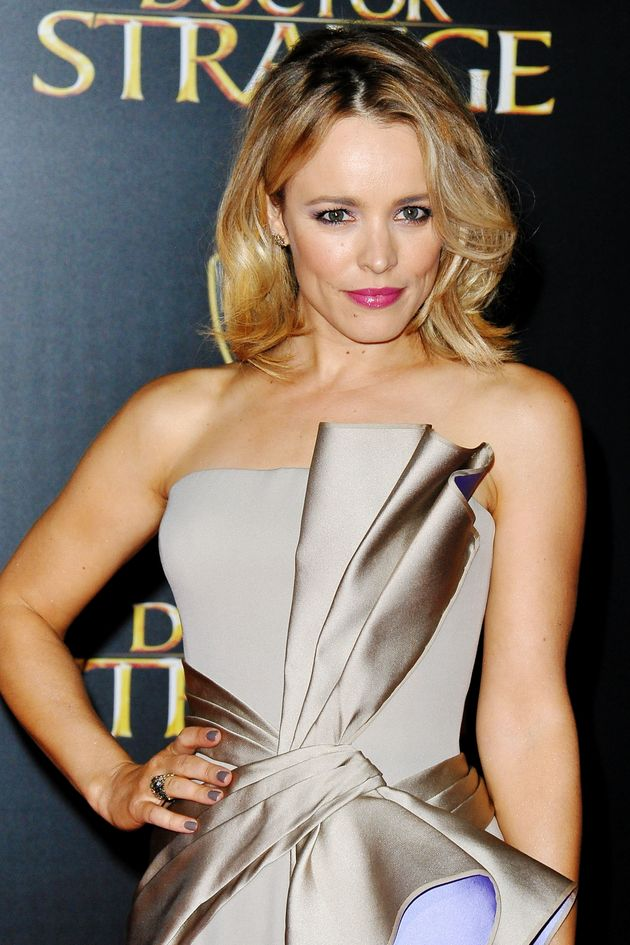 Rachel McAdams Wrapped Herself In A Giant Bow Like The Gift She