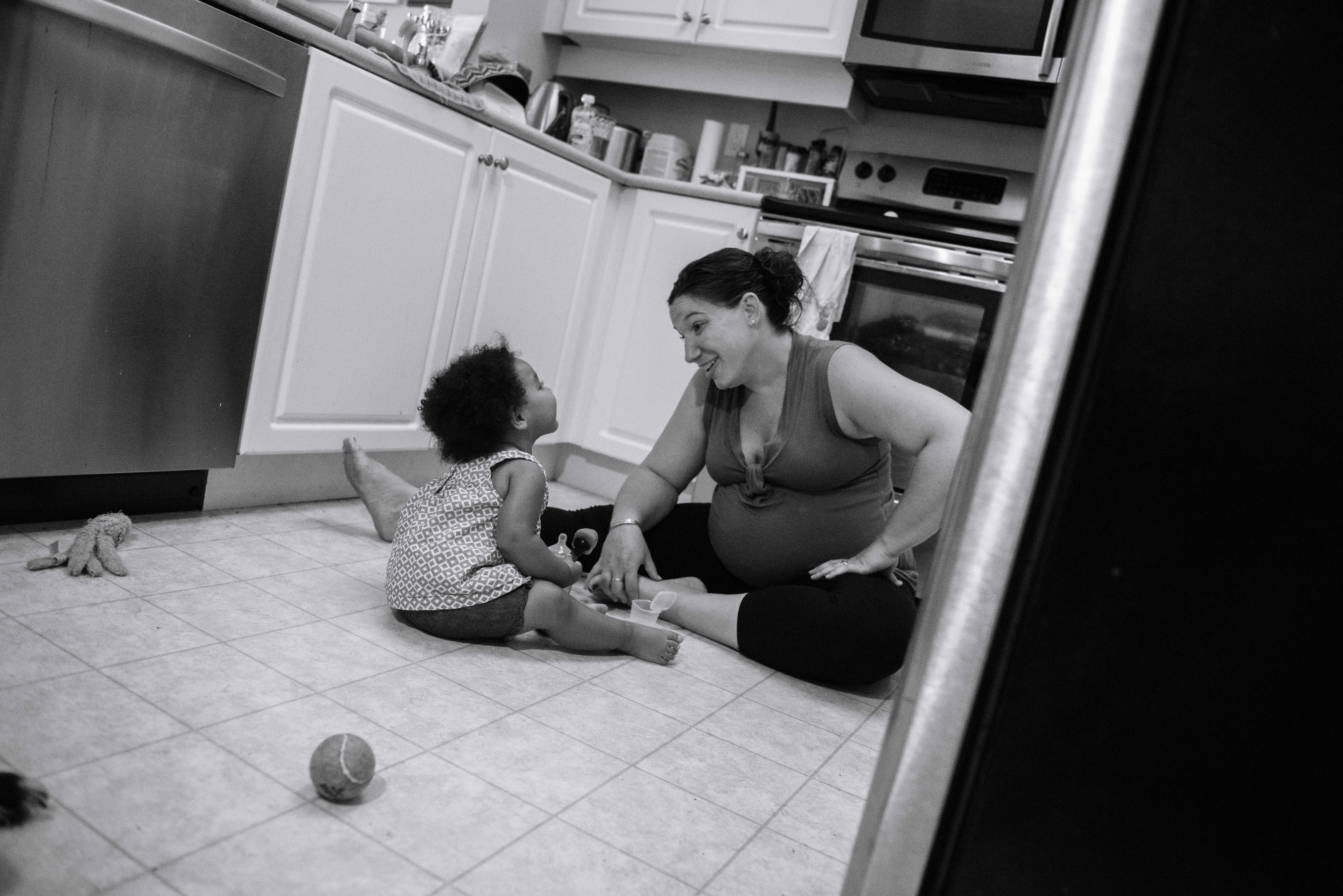 """""""Motherhood: Unfiltered"""" is all about showing the """"real"""" side of parenting."""