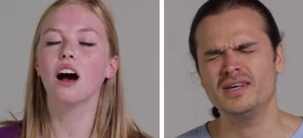 Watch 100 People Show Off Their Orgasm Faces