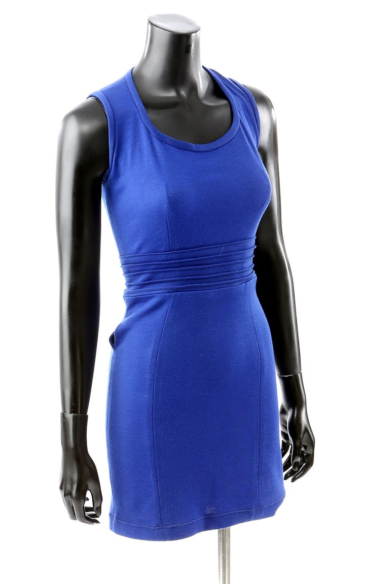 Bella's newborn vampire dress. ($1,500 - $2,000)