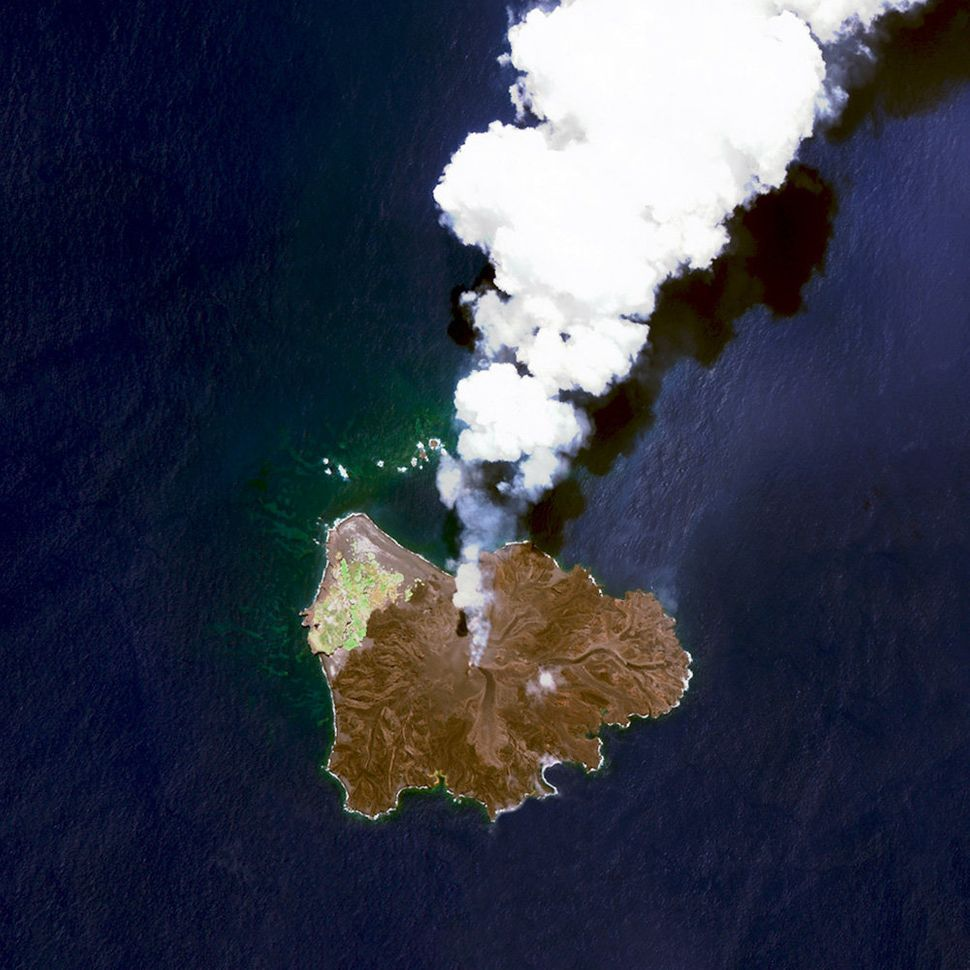 <strong>Nishinoshima Volcanic Activity<br></strong><br> Nishinoshima is a volcanic island located 584 miles south of Tokyo, J