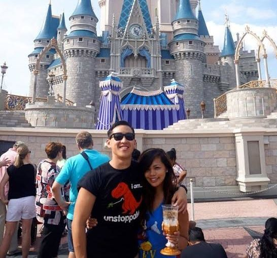 Curran Wong surprised his girlfriend Shari Hakim with a Disney-themed marriage proposal.
